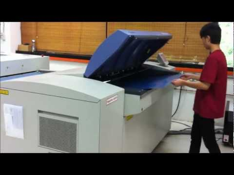 Computer-To-Plate (CTP) Image-Setter Process @ Ho Printing.wmv