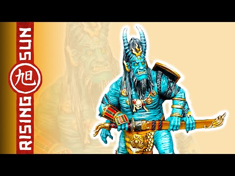 Painting Rising Sun Ep. 4 - Oni of Skulls