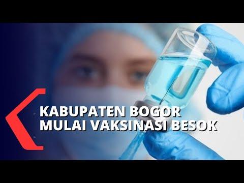 Kabupaten Bogor Akan Mulai Vaksinasi Covid-19 Besok 28 Januari