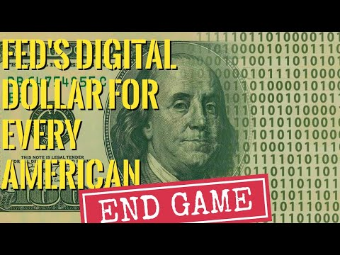 The Fed to Start Depositing Digital Dollars Directly to Each American Digital Wallet! - Must Video
