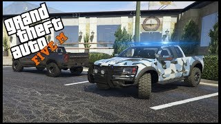 GTA 5 ROLEPLAY - PICKING UP NEW POLICE RAPTOR'S - EP. 376 - LEO