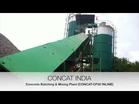 Revisable Drum Concrete Batching Plant RD-20