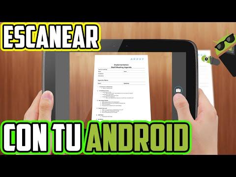 Como Escanear Documentos con tu Android