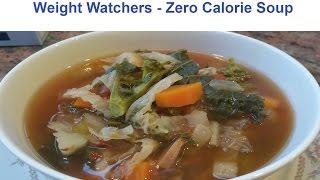 Weight Watchers - Zero Point Soup Recipe