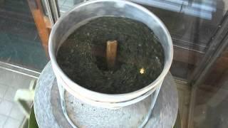 2015-04-16 Grinding Tea, Kawagoe