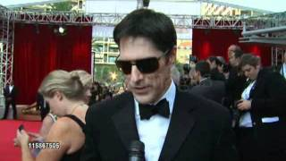 Interview de Matthew Gray Gubler et Thomas Gibson au Monte Carlo TV Festival 2011