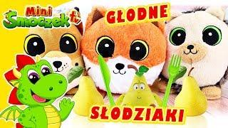 Słodziaki z Biedronki Są GŁODNE! Jajka Niespodzianki Zabawki Bajki Dla Dzieci Po Polsku