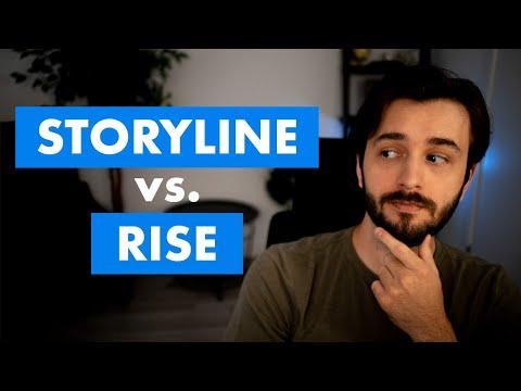 Articulate Storyline 360 vs. Articulate Rise