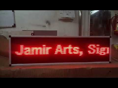 LED Ticker Display