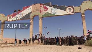 Syria: SAA secure full control of key highway linking Deir ez-Zor and Palmyra