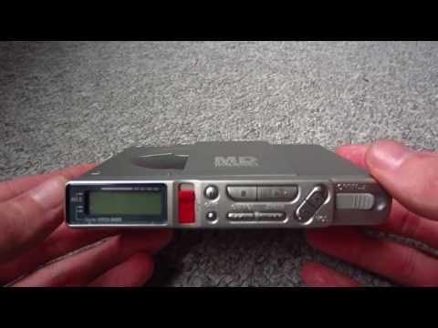 SONY MZ-R37 Portable Minidisc Recorder