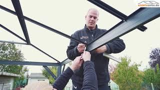 Aufbauvideo Hardtop Pavillon Romance 3x4 m
