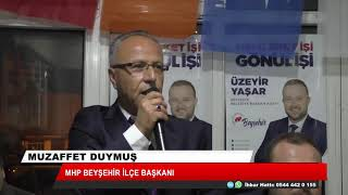 Beyşehir'de Cumhur İttifakı 'tek yumruk' seçim mesaisinde