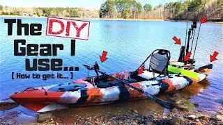 My DIY Kayak Gear / Here's How To Get It!