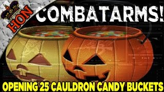 ★ Combat Arms - Opening 25 Cauldron Candy Buckets