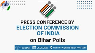 Press Conference by Election Commission of India on Bihar Polls - Download this Video in MP3, M4A, WEBM, MP4, 3GP