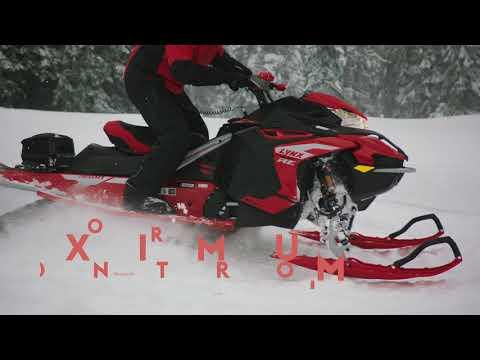 "2022 LYNX RAVE RE 850 E-TEC Ice Ripper XT 1.5"" M.S./E.S. - EARLY INTRO in Presque Isle, Maine - Video 1"