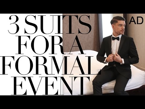 What To Wear To A Formal Event | 3 Suit Options Mp3