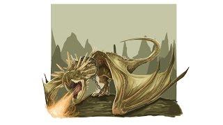 Vector Tutorial : Dragon Harry Potter Illustration