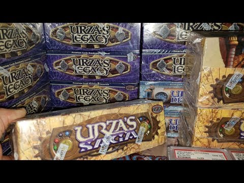 Alpha investments Presents : $5,000.00 Urza&#39s Saga booster Box OPENING
