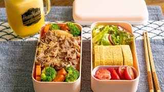 [Eng Sub]Gyudon 一天中最重要的哲学思考:中午吃啥好?:日式肥牛饭&厚蛋烧便当 【曼达小馆】 *4K