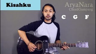 Chord Gampang (Kisahku    Brisia Jodie) By Arya Nara (Tutorial Gitar) Untuk Pemula