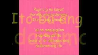 Pag ibig na kaya by Christian bautista and Rachelle Ann Go