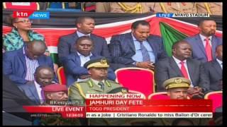 2016 JUMHURI DAY FETE: - President Uhuru celebrates the following for liberating Kenya