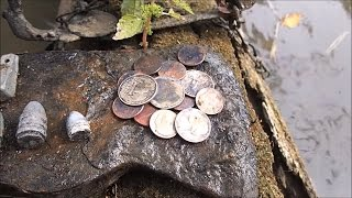 I Found A Stolen Coin Spill In The River!