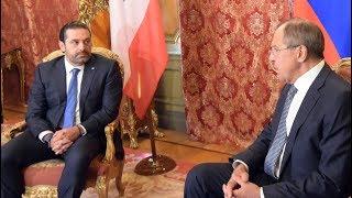 Переговоры С.В.Лаврова с С.Харири