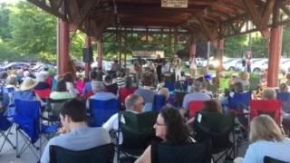 Freight Train Blues concert, Carrboro