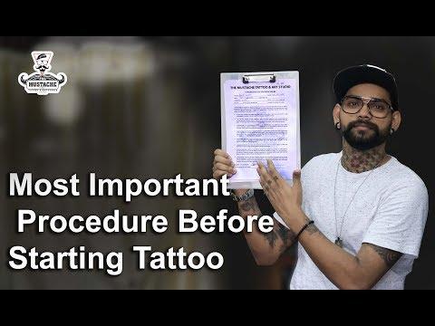 , title : 'Most Important Procedure Before Starting Tattoo   Tattoo Tutorial   part - 19