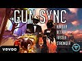 Multi-Game Gun Sync ~ ♪ Daft Punk - Harder, Better, Faster, Stronger (Far Out Remix) ♪