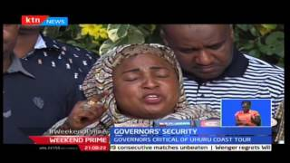 State withdraws Governor Joho and Kingi's security detail