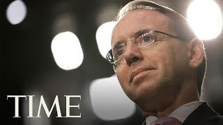 Rod Rosenstein Will Meet With President Trump Thursday After Reports That He Was Being Fired | TIME