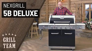 Nexgrill 5B Deluxe | Gasgrill mit Steakzone, Backburner und Seitenkocher | Vorstellung & Test