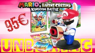 [UNBOXING] Mario + The Lapins Cretins Kingdom Battle - Edition Collector - FR
