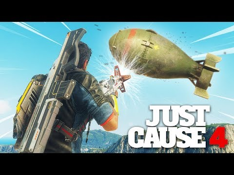 Just Cause 4 - GRAVITY GUN VS NUKE! *WEIRD GLITCH*