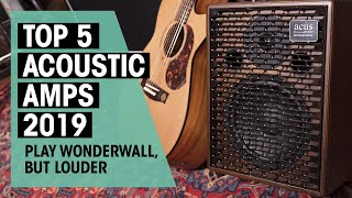 Acoustic Amps Of The Year 2019 | Top 5 | Thomann
