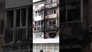 Пожар в Экибастузе 19.08.2019