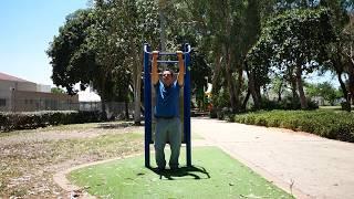 30 days of  2 minutes dead hang / bar hang challenge . episode 2