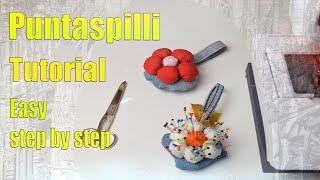 Puntaspilli Fai Da Te Tutorial Passo Passo  DIY Pincushion Step By Step Tutorial