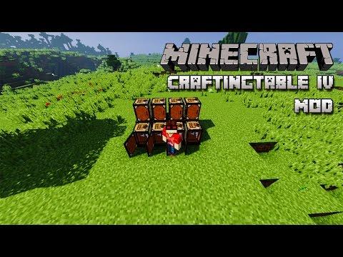 Minecraft | SUPER MESA DE CRAFTEO! -  CraftingTable IV Mod Español!
