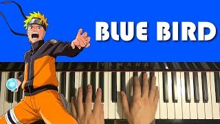 Naruto Opening 3   Blue Bird (Piano Tutorial Lesson)