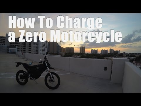 How To Charge A Zero Electric Motorcycle