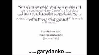 Gary Danko, San Francisco - Reviews!!!