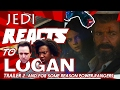 "JEDI REACTS!: ""Logan"" Trailer 2 ✊ 🍴 (But Mostly We Talk About ""Power Rangers"")"