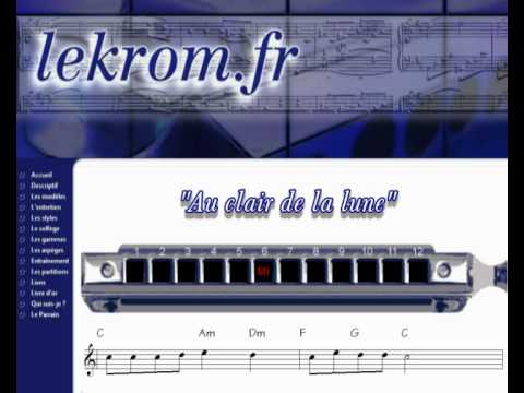 Harmonica hallelujah harmonica tabs : Harmonica : harmonica tabs hallelujah Harmonica Tabs and Harmonica ...
