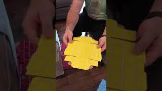 Melissa & Doug Deluxe Jumbo Cardboard Box Assembly