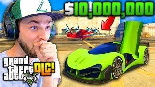 SO I SPENT $10,000,000...! - (GTA 5 Smugglers Run DLC)